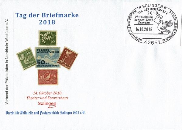 Tag der Briefmarke 2018 in Solingen