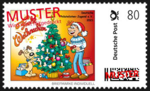 Read more about the article Weihnachtspost – mit DPhJ-Weihnachtsmarke
